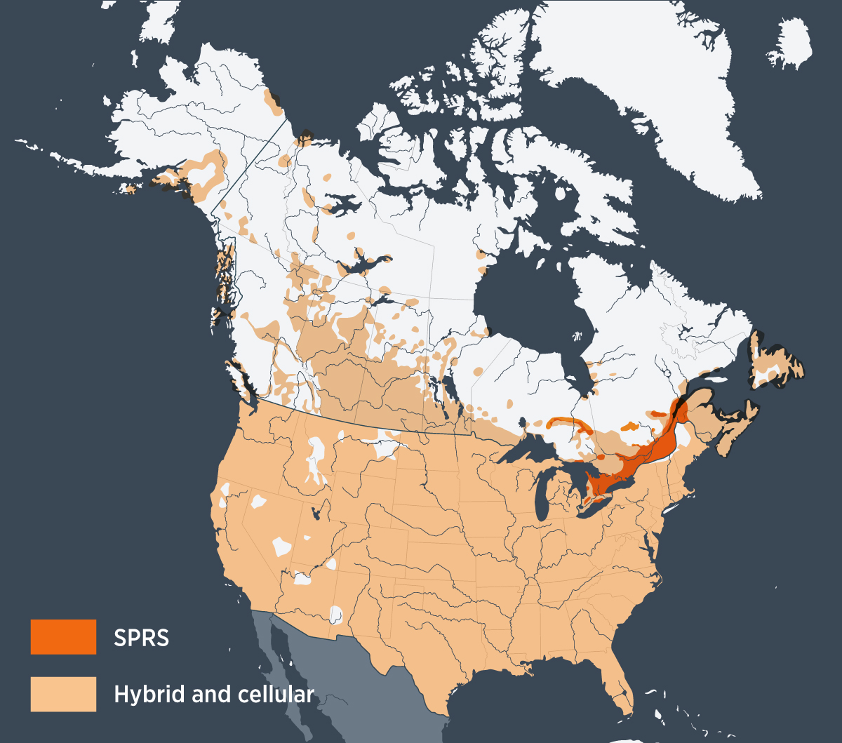 North American Coverage Map | Otodata